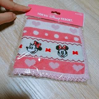 ディズニー(Disney)のミニーちゃん ハンカチ(ハンカチ)