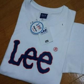 Lee - ◆最新◆新品タグ付き◆ LEE  ルーズフィットTシャツ/L/ホワイト