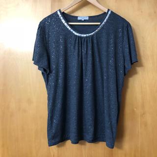 シマムラ(しまむら)の4Lラメ入り生地Tシャツ( ˙ᵕ˙ )(Tシャツ(半袖/袖なし))