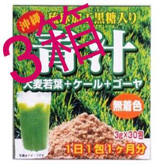 送料込⭐️青汁 3箱90包 野菜不足の方 ゴーヤ 大麦若葉 ケール(青汁/ケール加工食品)