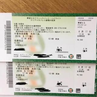 チケット 華麗なるクラッシックバレエ ハイライト ロシア4大バレエ劇場の競演(バレエ)