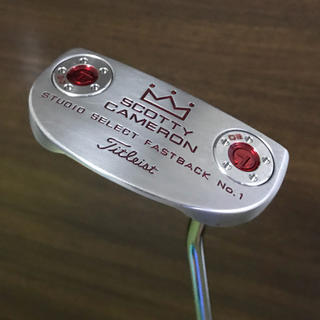スコッティキャメロン(Scotty Cameron)のSCOTTY CAMERON STUDIO SELECT FASTBACK(クラブ)