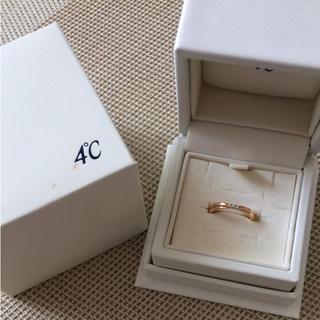 ヨンドシー(4℃)の【そらさん専用】4℃ ダイヤモンドリング & サマンサ ベガ バッグ(リング(指輪))