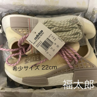 アディダス(adidas)のPharrell Wilams HUMAN RACE NERD 希少 22cm (スニーカー)