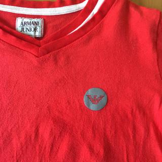 アルマーニ ジュニア(ARMANI JUNIOR)のアルマーニジュニア  Tシャツ  130(Tシャツ/カットソー)