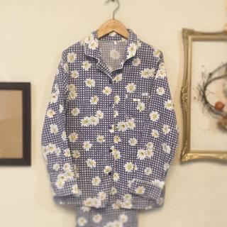 アモスタイル(AMO'S STYLE)の♥デイジー柄パジャマ上下セット(パジャマ)