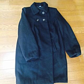 ザラキッズ(ZARA KIDS)のZARAの黒コート(ロングコート)