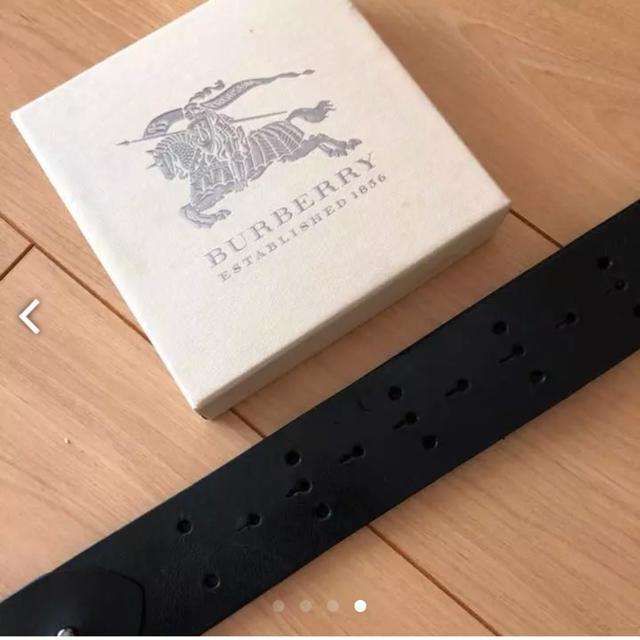BURBERRY(バーバリー)の美品 バーバリー Burberry レディース ベルトイタリア製 レディースのファッション小物(ベルト)の商品写真