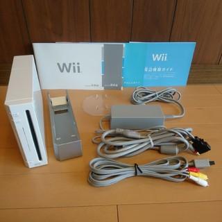 ウィー(Wii)の【送料無料】Wii本体 周辺機器セット(家庭用ゲーム本体)