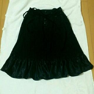 バーバリー(BURBERRY)のバーバリーブルーレーベルの冬物スカート(ひざ丈スカート)