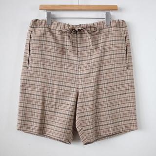 コモリ(COMOLI)のauralee  silk summer tweed shorts(ショートパンツ)