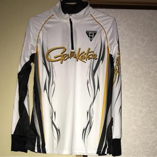 ガマカツ(がまかつ)のがまかつ シャツ 2WAY プリントジップ 長袖 GM-3442 未使用(ウエア)