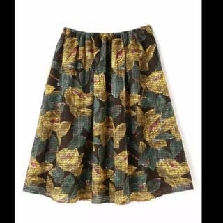 アングローバルショップ(ANGLOBAL SHOP)のanglobalshopアングローバルショップ花柄スカート♡フォードミルズ(ひざ丈スカート)