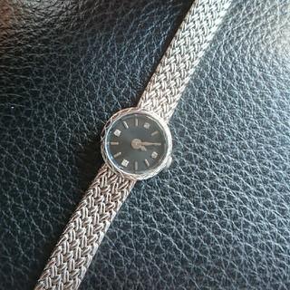 アガット(agete)の定価70200円❇️agete ダイヤ4石 華奢ウォッチ(腕時計)