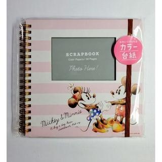 Disney - 送料無料■未開封■ミッキー&ミニー/ディズニー■スクラップブック■アルバムノート