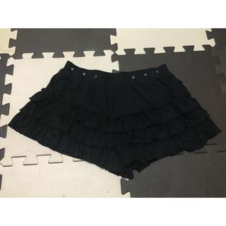 バンブルビー(BumBleBee)のフリル短パン  スカートパンツ  フリーサイズ(ショートパンツ)
