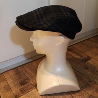 バーバリー(BURBERRY)のバーバリーハンチング バーバリーゴルフ ノバチェック シェードチェック 美品 (ハンチング/ベレー帽)