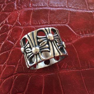 シルバー リング クロス クロムハーツ風 メンズ 指輪(リング(指輪))