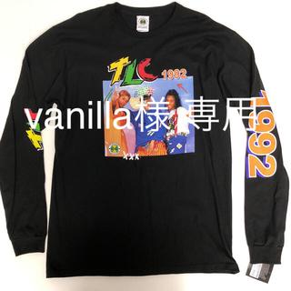 クロスカラーズ(CROSS COLOURS)の【新品/アメリカ購入/サイズL】TLCプリントロンTシャツ(Tシャツ/カットソー(七分/長袖))