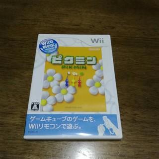 ウィー(Wii)のwii   ピクミン(家庭用ゲームソフト)