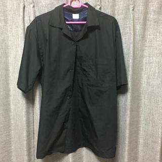 RAGEBLUE - オープンカラーシャツ ブラック