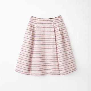 トッカ(TOCCA)のTOCCA FLAGスカート ネット限定色 ピンク(ひざ丈スカート)