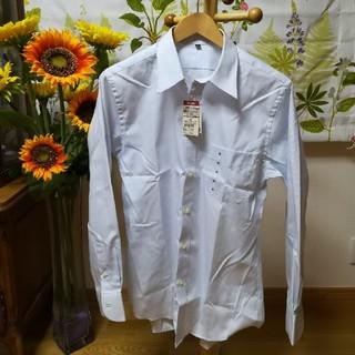 MUJI (無印良品) - ✨無印良品 薄水色の長袖シャツMサイズ♪