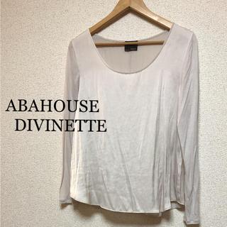 アバハウスドゥヴィネット(Abahouse Devinette)のアバハウス ドゥヴィネット   カットソー(カットソー(長袖/七分))