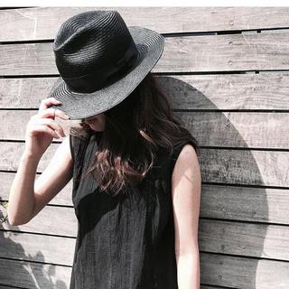 メゾンドリーファー(Maison de Reefur)のetre   tokyo ★ジュンナさん着用シティハット黒(ハット)