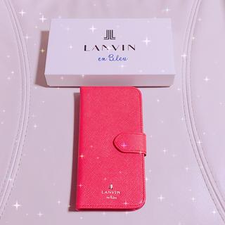 ランバンオンブルー(LANVIN en Bleu)のランバンオンブルーiphoneケース(iPhoneケース)