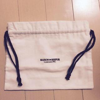 メゾンドリーファー(Maison de Reefur)のメゾンドリーファー保存袋✴︎巾着(ポーチ)