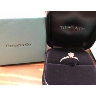 ティファニー(Tiffany & Co.)のTiffany & Co. ダイヤモンド リング 指輪 婚約指輪 0.53ct.(リング(指輪))