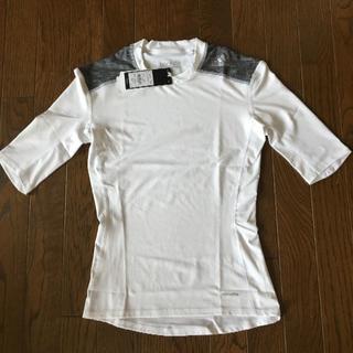 アディダス(adidas)の新品 adidas アディダス 半袖 コンプレッションシャツ L 白 (その他)