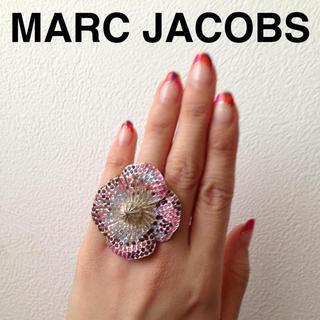 マークジェイコブス(MARC JACOBS)のMARC JACOBS フラワーリング☆(リング(指輪))