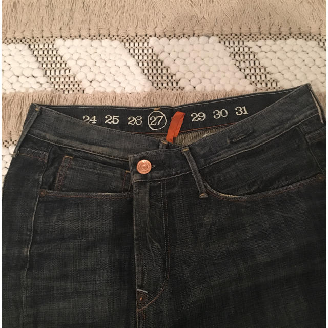 earnest sewn(アーネストソーン)のアーネストソーンデニムスカート レディースのスカート(ひざ丈スカート)の商品写真