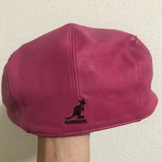 カンゴール(KANGOL)のKANGOL レザーハンチング(ハンチング/ベレー帽)