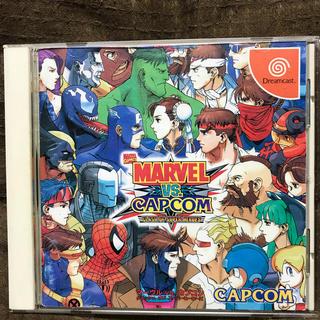 カプコン(CAPCOM)のDC マーヴルVS.カプコン(家庭用ゲームソフト)