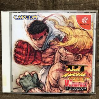 カプコン(CAPCOM)のDC ストリートファイターⅢ ダブルインパクト(家庭用ゲームソフト)