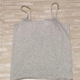 ムジルシリョウヒン(MUJI (無印良品))の無印良品 カップ付きキャミソール L(キャミソール)