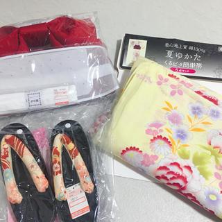 シマムラ(しまむら)の新品未使用!浴衣5点セット♡2018年モデル(浴衣)