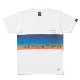 アップルバム(APPLEBUM)の applebum sunsetmix L 新品未使用 白(Tシャツ/カットソー(半袖/袖なし))