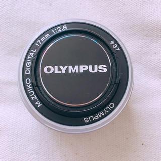 オリンパス(OLYMPUS)のOLYMPUS パンケーキレンズ M.ZUIKO DIGITAL 17mm(レンズ(単焦点))