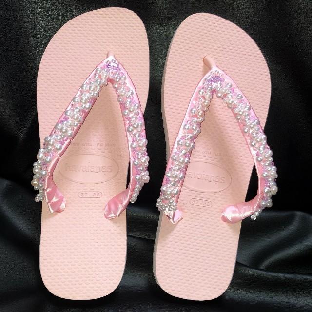 havaianas(ハワイアナス)のビーチサンダルハワイアナス♡ レディースの靴/シューズ(ビーチサンダル)の商品写真