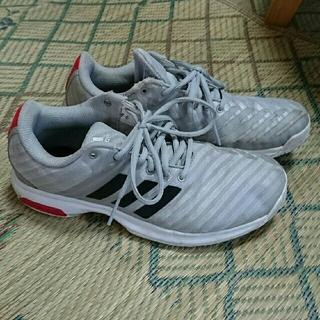 アディダス(adidas)のadidas テニスシューズ25.5㎝*3Eオムニクレー(シューズ)