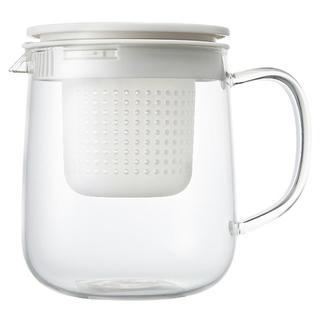 ムジルシリョウヒン(MUJI (無印良品))の☆新品 muji 無印良品 耐熱ガラス ポット 大(1L) 1個(容器)