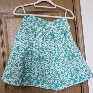 イープローズ(EPROZE)のスカート イープローズ ライトグリーン(ひざ丈スカート)