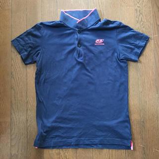 フィフティーファイブディーエスエル(55DSL)の55DSL ポロシャツ ネイビー色(ポロシャツ)