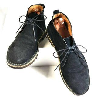 パドローネ(PADRONE)のPADRONE パドローネ チャッカブーツ 25.5(ブーツ)