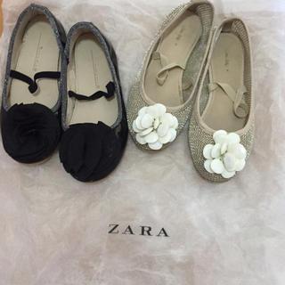 ザラ(ZARA)のザラ ❤️シューズ17センチ 2足セットで。(スニーカー)