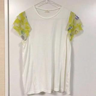 フリフ(ふりふ)のふりふ 着物 フリルTシャツ(Tシャツ(半袖/袖なし))